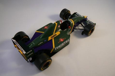 LARROUSSE LH94, O. Beretta - GP Brasil 1994