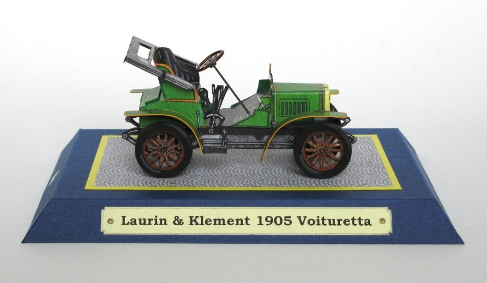 Laurin a Klement 1905 Voituretta
