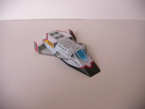 Letadlo 50/50 a raketoplán SPIRAL