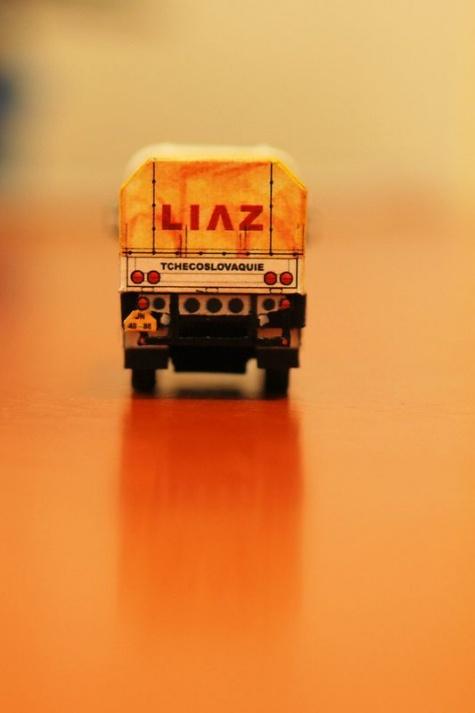 LIAZ 100.55 D 4x4 Dakar 1985