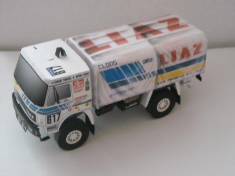 LIAZ 111.154 Dakar 1988, J. Moskal