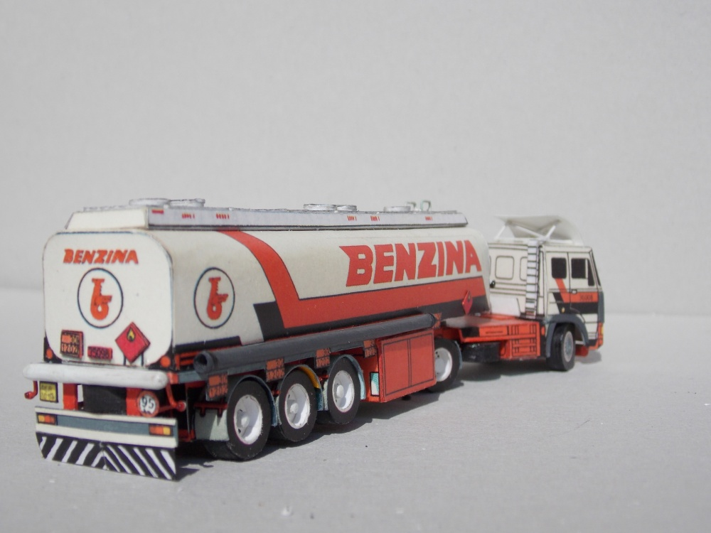 Liaz 110.573 - Benzina / ROC 34T3A - cisterna