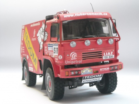LIAZ 111.154 Dakar 2006 - Blekota