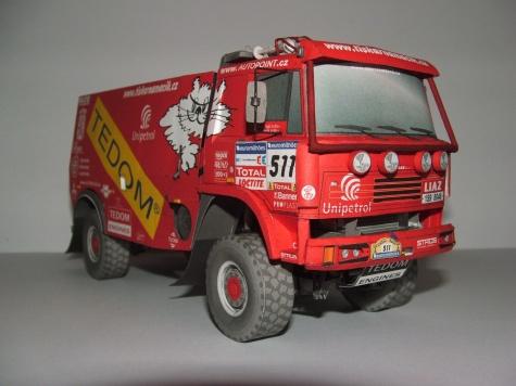 LIAZ 111.154 Dakar 2006 - Benc Jan