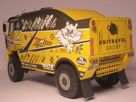 Liaz 111.154 VK - Dakar 2010 - Blekota