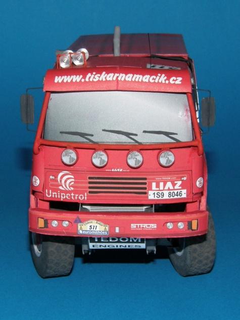 LIAZ 111_154 DAKAR 2006