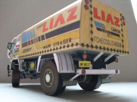 LIAZ 111_154 DAKAR 88