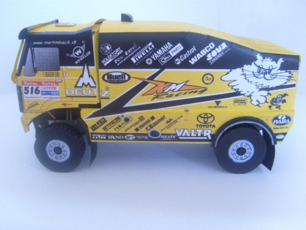 LIAZ 4x4, Dakar 2009, M. Macík