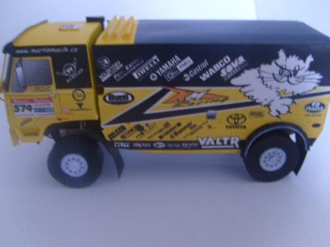 LIAZ 4x4 Dakar 2009, L. Fajtl