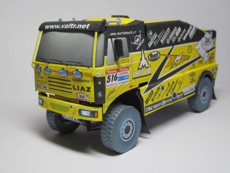 Liaz 4x4 Dakar 2009 KM Racing