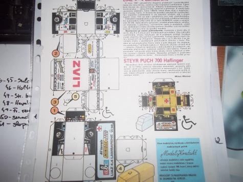 Liaz 4x4 Lambaréné (W38) + Steyr Puch 700 Haflinger (W27)