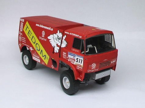 Liaz Dakar 2006 / Vimos / - Kovář