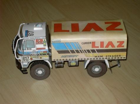 LIAZ DAKAR 88