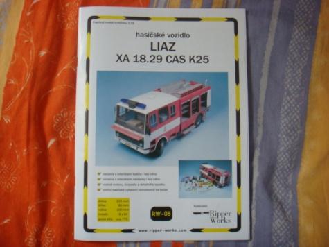 LIAZ XA 18.29 CAS K25 + Vybavenie