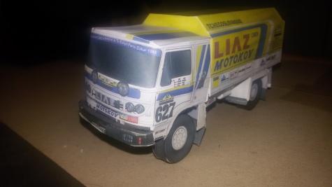 Liaz 100.55 Dakar 1985
