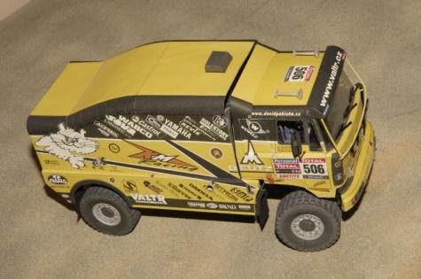 Liaz 111.154 VK - Dakar 2010