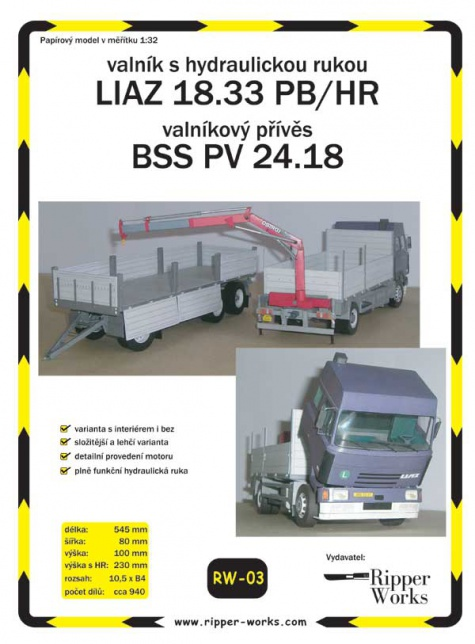 Liaz 18.33 PB/HR + BSS PV 24.18