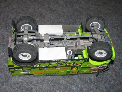 Liaz 19.32 VK Dakar 2009