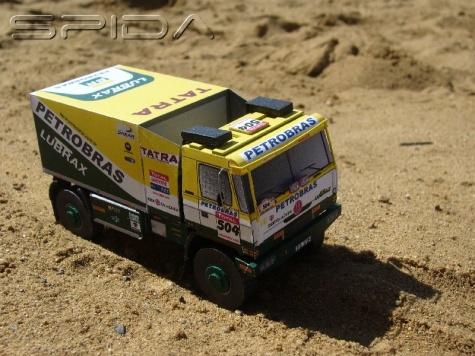 CZ kamiony z Dakaru 2009
