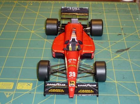 Life F190 - Bruno Giacomelli - GP Maďarska 1990