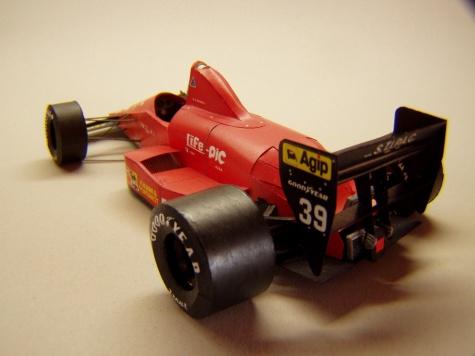 Life F190, 1990, B. Giacomelli