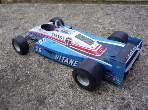 Ligier JS 19 / J.Laffite / 1982