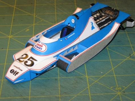 Ligier JS11, P. Depailler, GP Argentina 1979 - beta