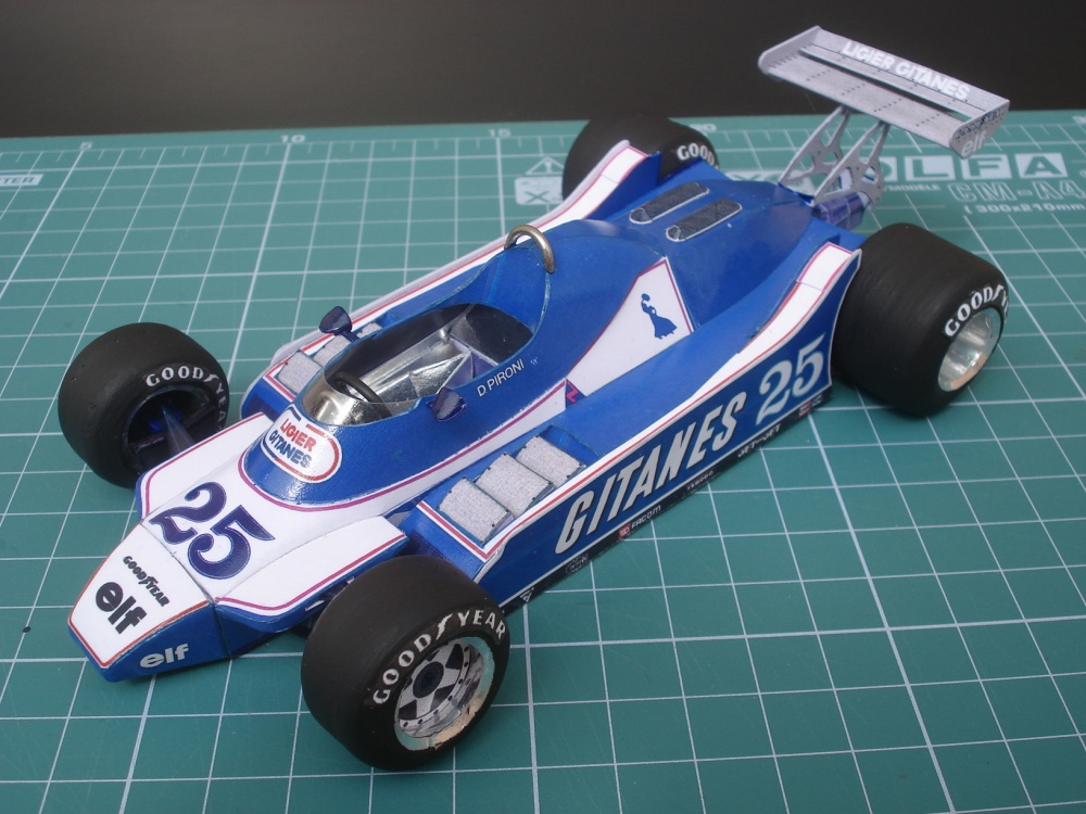 Ligier JS11-15 British GP 1980