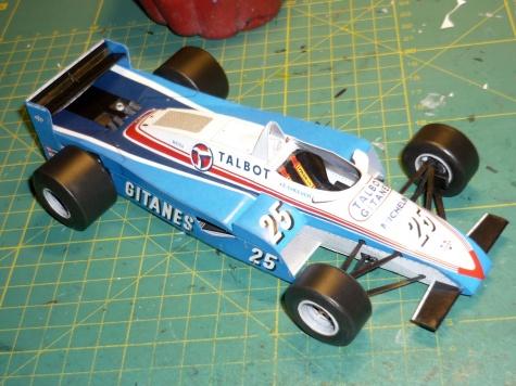 Ligier JS19 - Eddie Cheever - GP Las Vegas 1982