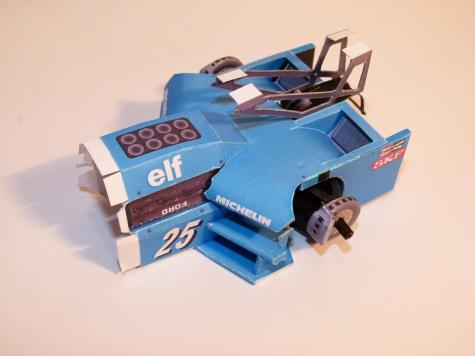 LIGIER JS21, 1983,  JEAN PIERRE JARIER
