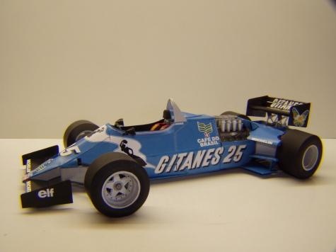 Ligier JS21, 1983, J. P. Jarier, GP USA