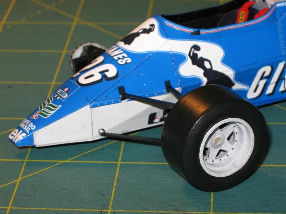 Ligier JS21, R. Boesel , GP Monaka 1983