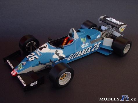 Ligier JS21 Ford - GP Francie 1983 - J. P. Jarier