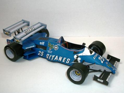 Ligier JS21 Jean Pierre Jarrier - MK2