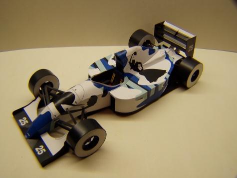 Ligier JS39, 1993, M. Brundle, GP Japonska