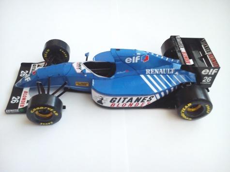 Ligier JS39, 1993 Mark Blundell