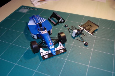 Ligier JS39  rok 1993