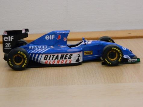 LIGIER JS39 M.Blundell,Monaco 1993