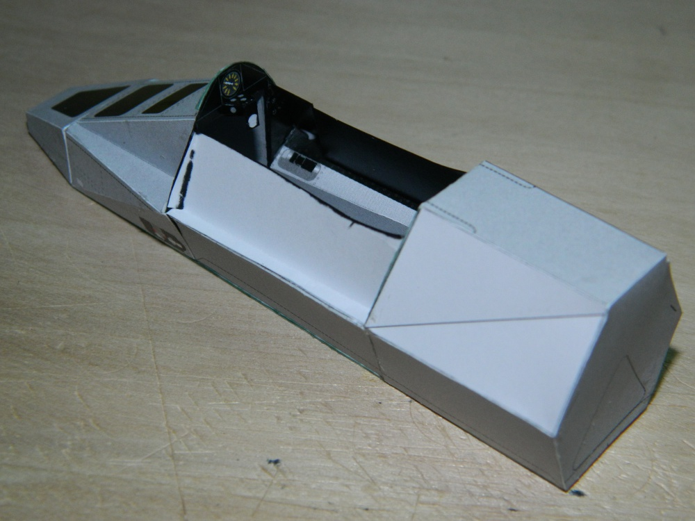 LIGIER JS-21 J.P.Jarier-Rio testing 1983