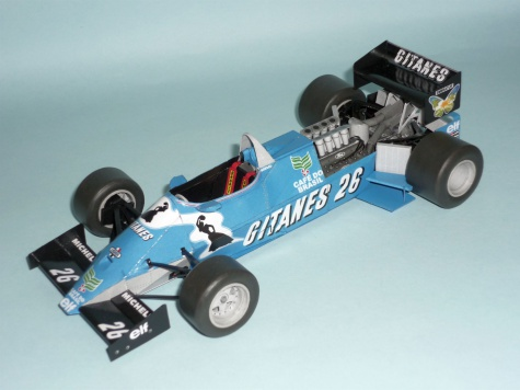 Ligier JS21 - Raul Boesel - GP Brazilie 83