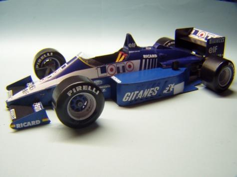 Ligier JS27, 1986, J. Laffite