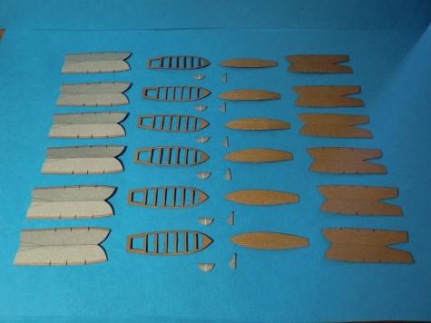 PAPER MODELS - BISMARCK, HOOD, TIRPITZ, SCHARNHORST, FUSO, YAMATO 1:200 20120908080305-173874-v