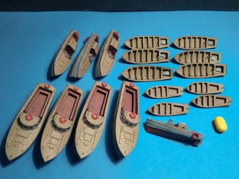 PAPER MODELS - BISMARCK, HOOD, TIRPITZ, SCHARNHORST, FUSO, YAMATO 1:200 20120917064120-174847-v