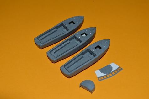 PAPER MODELS - BISMARCK, HOOD, TIRPITZ, SCHARNHORST, FUSO, YAMATO 1:200 20131201073346-225670-v