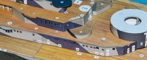 PAPER MODELS - BISMARCK, HOOD, TIRPITZ, SCHARNHORST, FUSO, YAMATO 1:200 20140102193637-229957-v