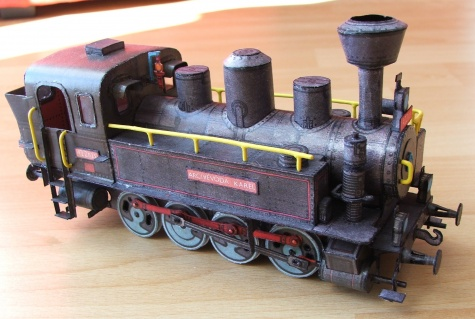 Lokomotiva 422.025, Arcivevoda Karel