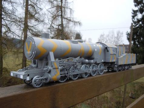 Lokomotiva BR 52 Kriegslog + LEOPOLD