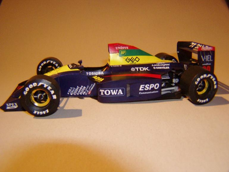 Lola Larousse LC90, 1990, A. Suzuki