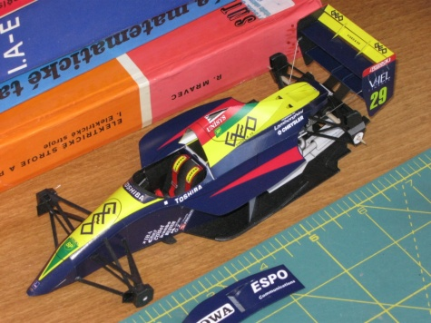 Lola Larrousse LC-90, E. Bernard, GP Great Britain 1990 - beta