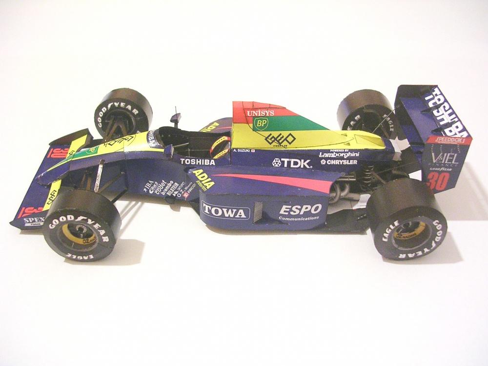 Lola Larrousse LC90, 1990 Aguri Suzuki